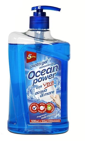 OCEAN POWER PIATTI GEL SALE MARINO 550ml