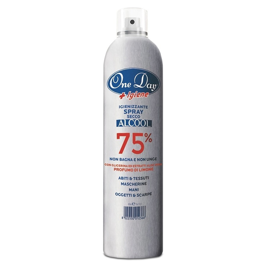 SPRAY IGIENIZZANTE ALCOOL 75%  400ml