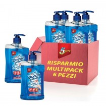 OCEAN POWER PIATTI GEL SALE MARINO MULTIPACK 6pz